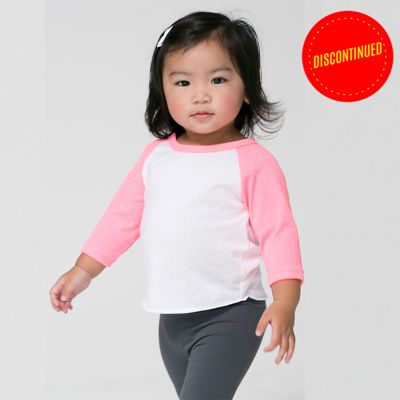 Infant Poly-Cotton 3/4-Sleeve Tee Thumbnail