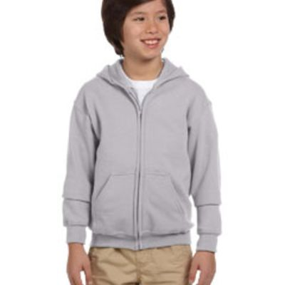 Youth Heavy Blend™ 50/50 Full-Zip Hood Thumbnail
